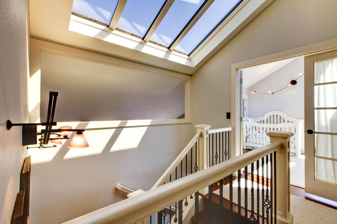 skylight window cleaning home